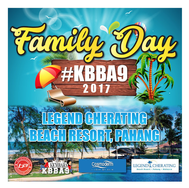 SERONOKNYA DI LEGEND CHERATING BEACH RESORT – FAMILY DAY #KBBA9 PART ONE