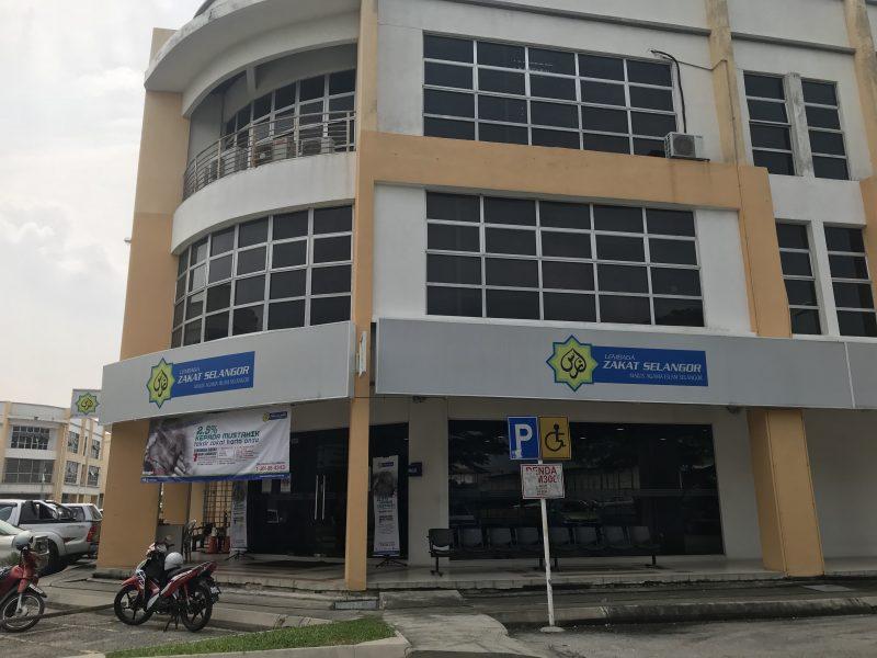 Air Mata Tumpah di Lembaga Zakat Selangor  Klang Sentral