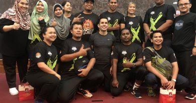 Cabaran Jom Kurus Satu Malaysia Musim ke-10 – Team Charlie KLCC Bersama Kapten Black