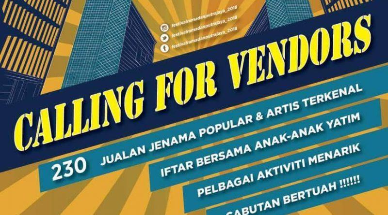 Jom Shoping Barangan Raya di Festival Ramadhan Putrajaya 2018