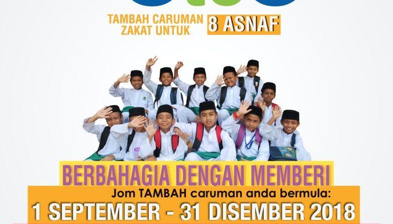Tambah Caruman Zakat – Online Je!