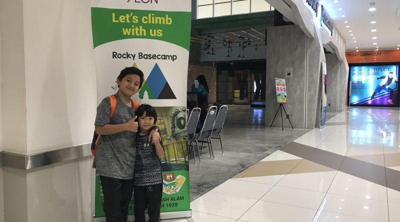 Rocky BaseCamp Indoor Wall Climbing Di AEON Shah Alam