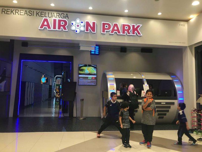 Air On Park – Pusat Rekreasi Keluarga di AEON Shah Alam