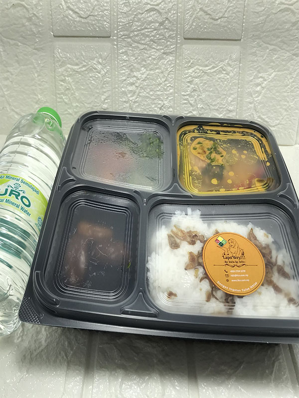 Infaq Ramadhan 2021 Bersama Dapur Lapowey - packaging