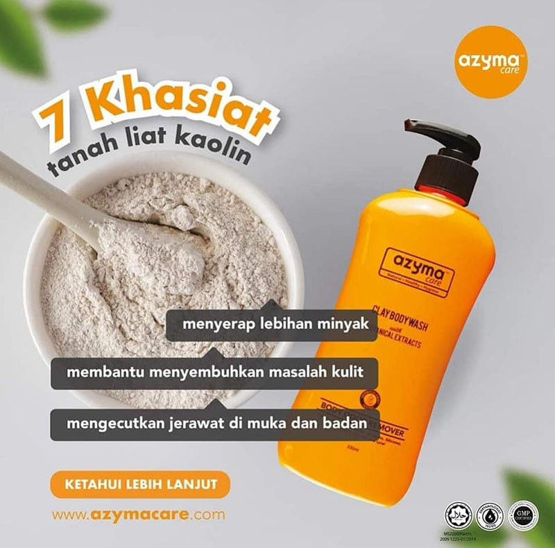 Azyma Care Clay Body Wash