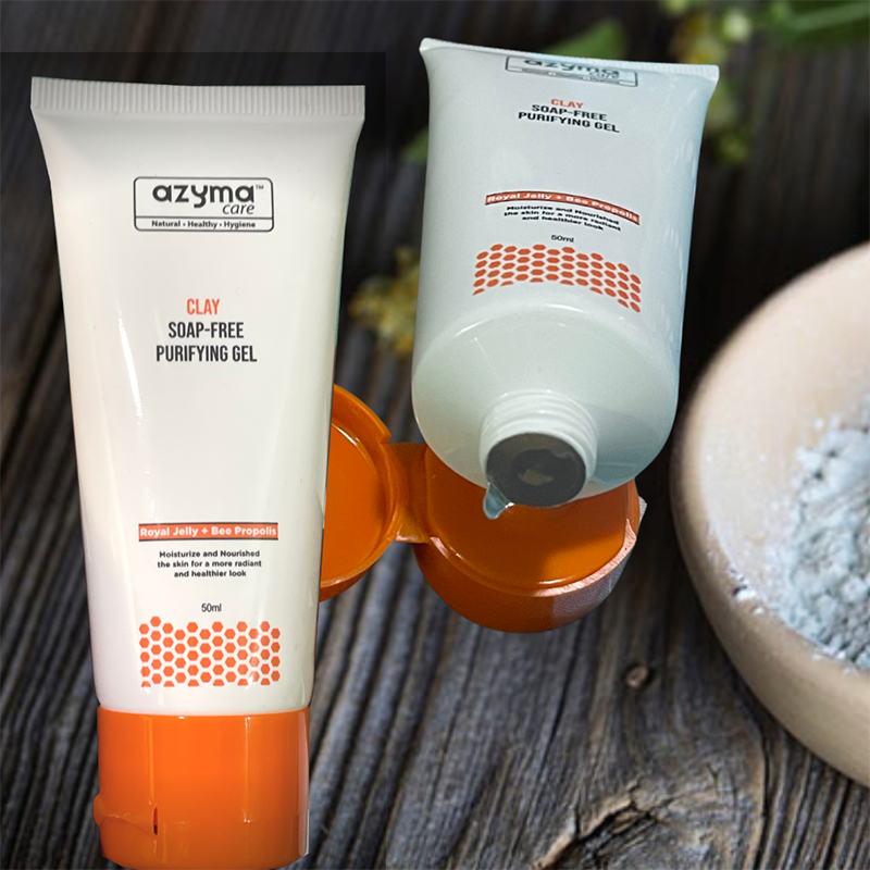 AzymaCare Clay Soap-Free Purifying Gel