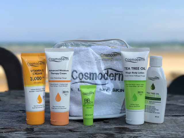 LOVE OUR SKIN – DON'T LEAVE HOME WITHOUT COSMODERM
