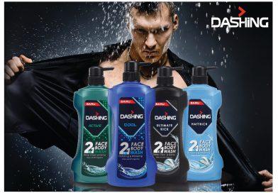 Mandian Dashing 2 in 1 Face & Body Wash Khas Untuk Hero-Heroku