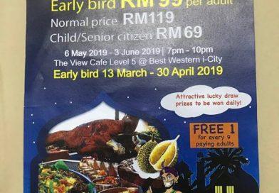 Enaknya Buffet Ramadhan The View Cafe Best Western i-City Shah Alam 2019